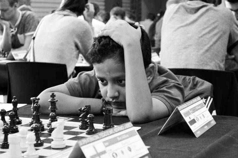 shiv shome playing chess
