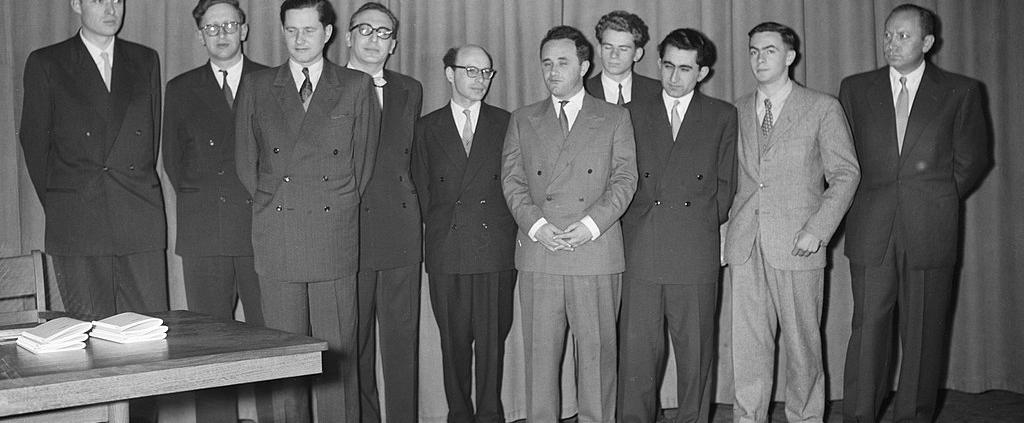 Mikhail Tal, Bobby Fischer, Boris Spassky, Jose Raul Capablanca and Alexander Alekhine