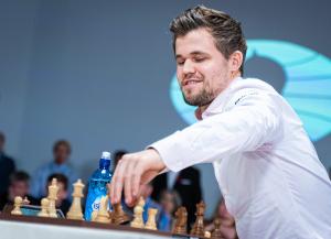 magnus carlsen -- current world champion
