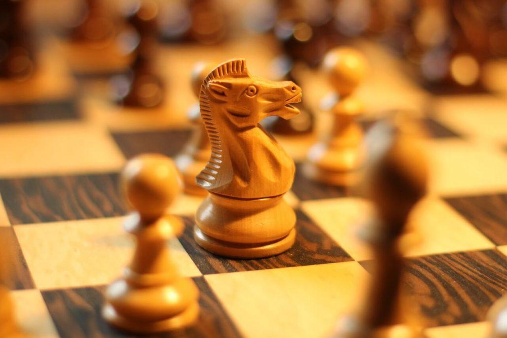 chess knight attack
