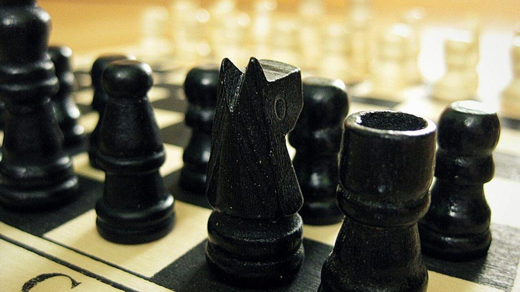 chess set black pieces