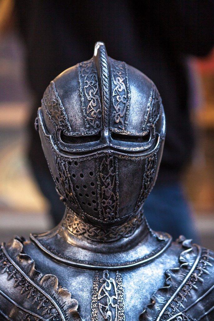 medieval set chess piece