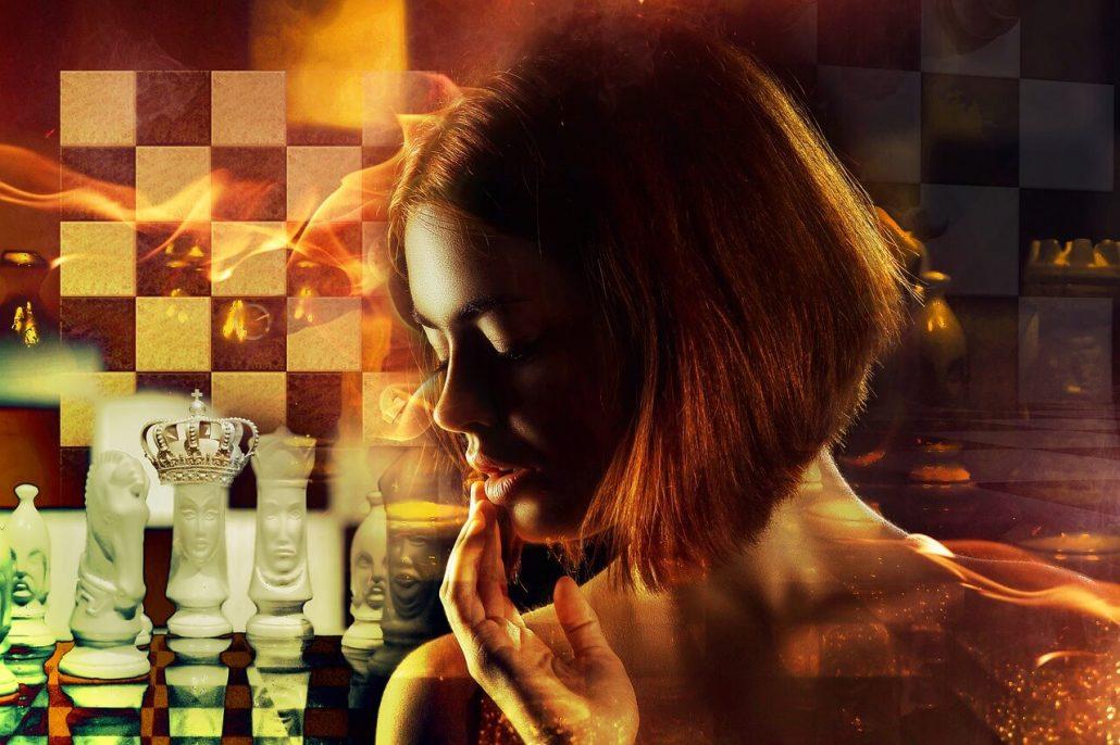 power wfm chess woman