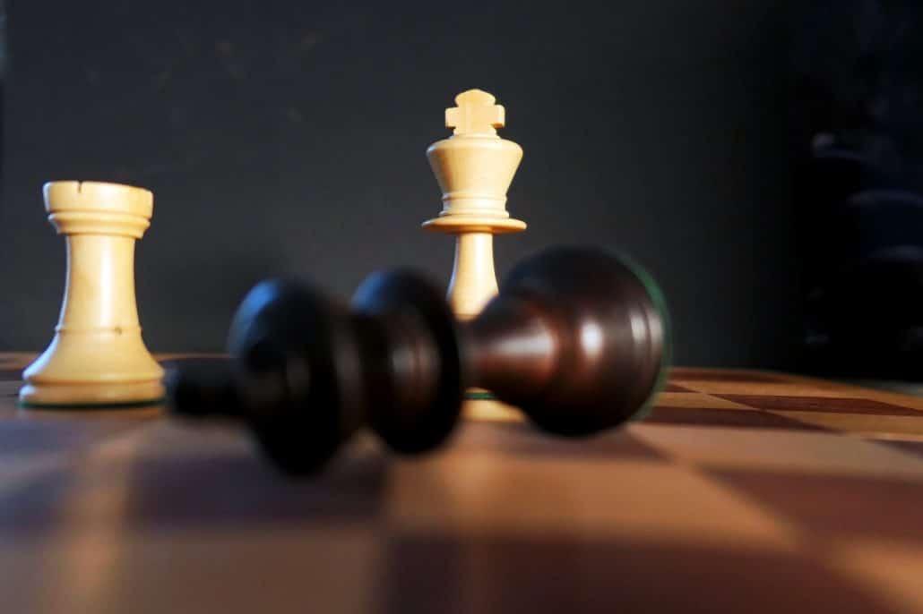 zelda chess set black king