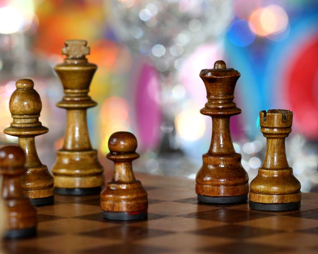bishop chess piece chessboard