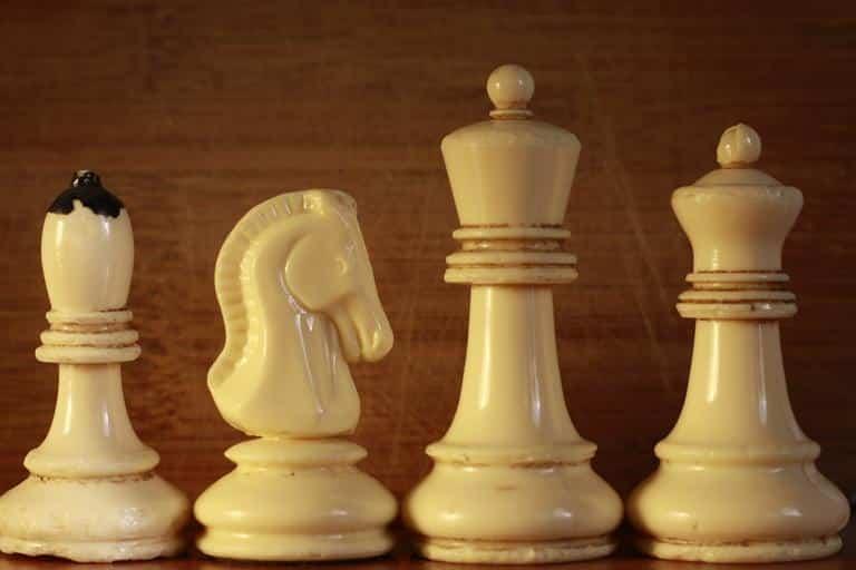 bishop chess piece white