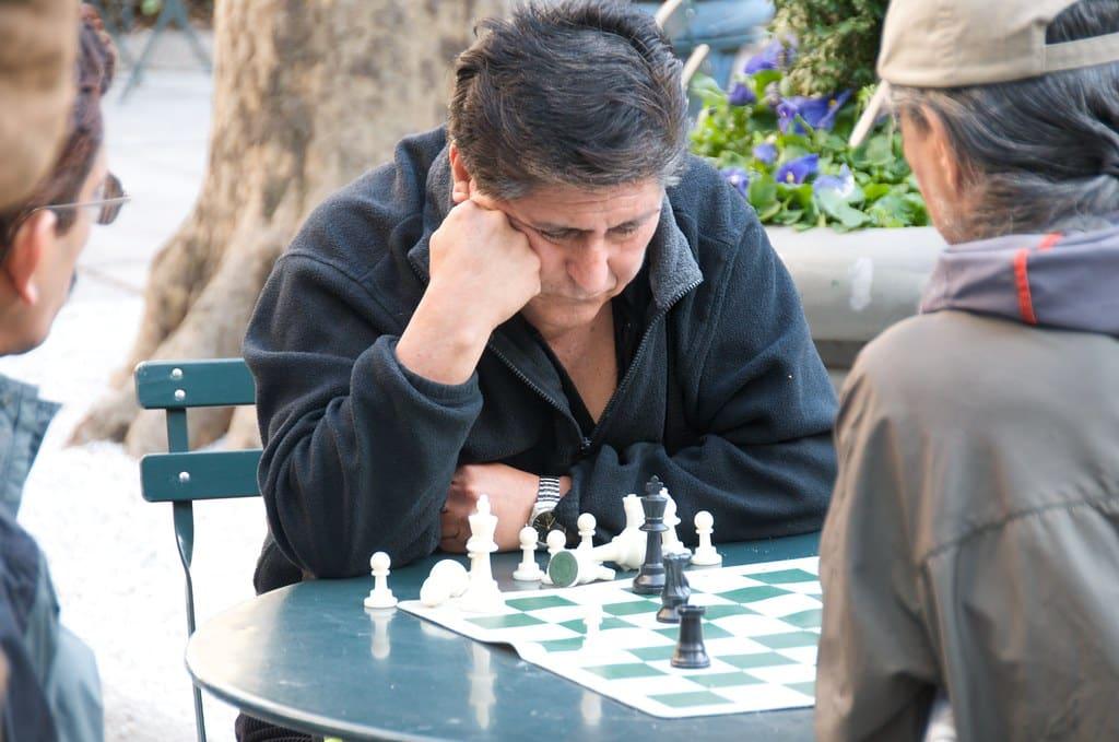 chess personality playing