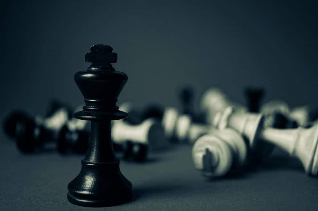 dragon chess set king