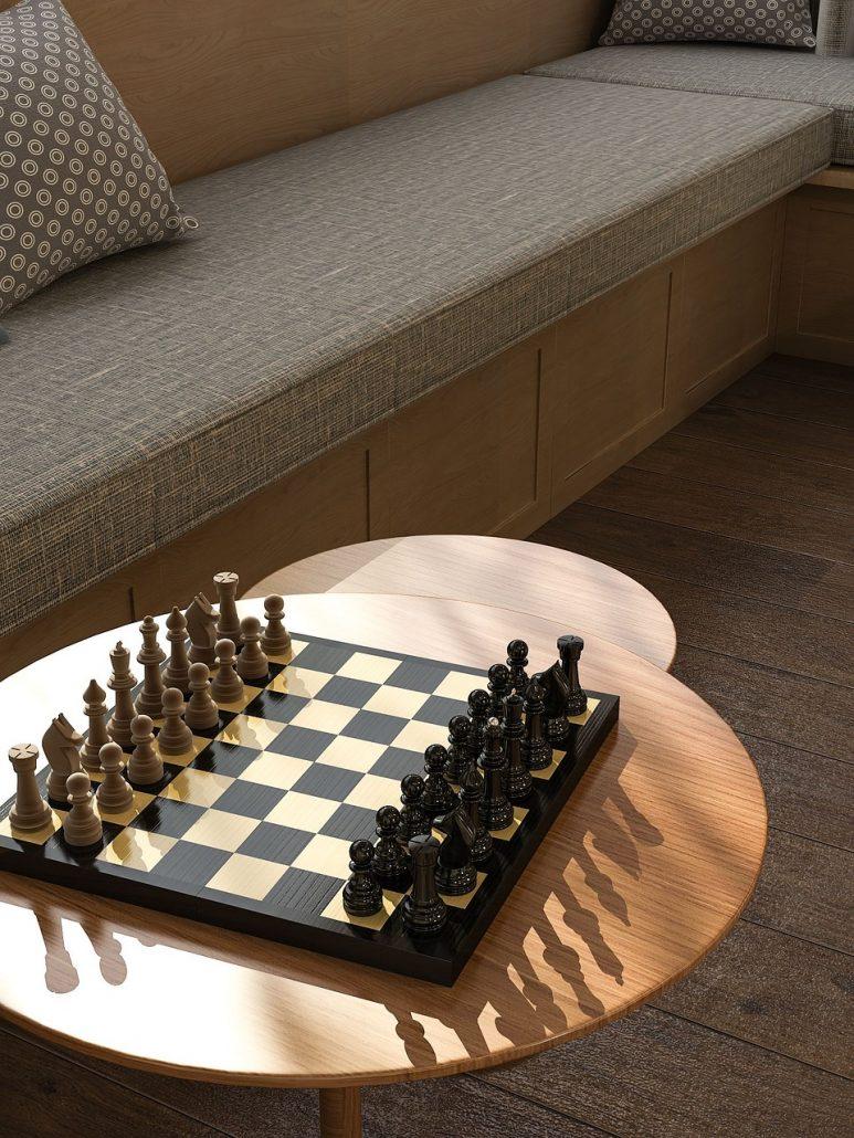 no stress chess chessboard