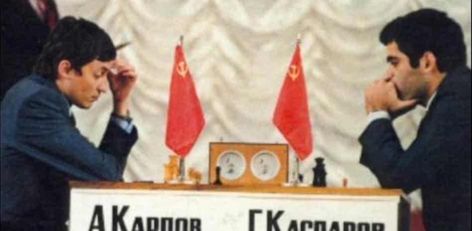Anatoly Karpov vs Garry Kasparov Game