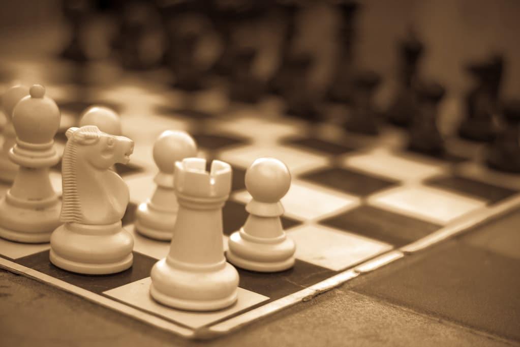 brilliant chess combinations chessboard