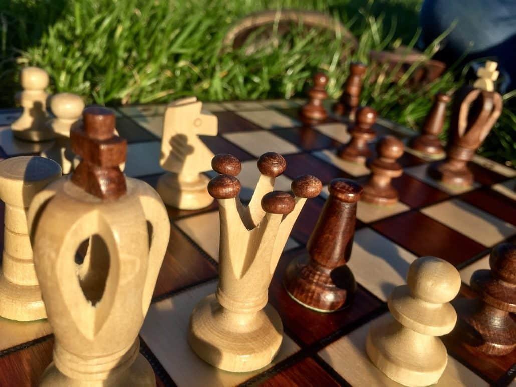 chess bishop pair pieces