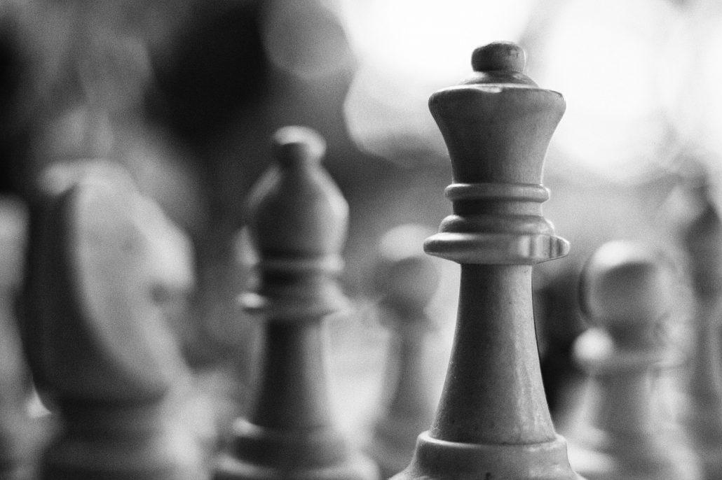 chess bishop pair queen