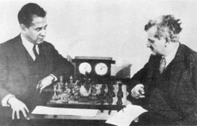 Chess gambit Capablanca