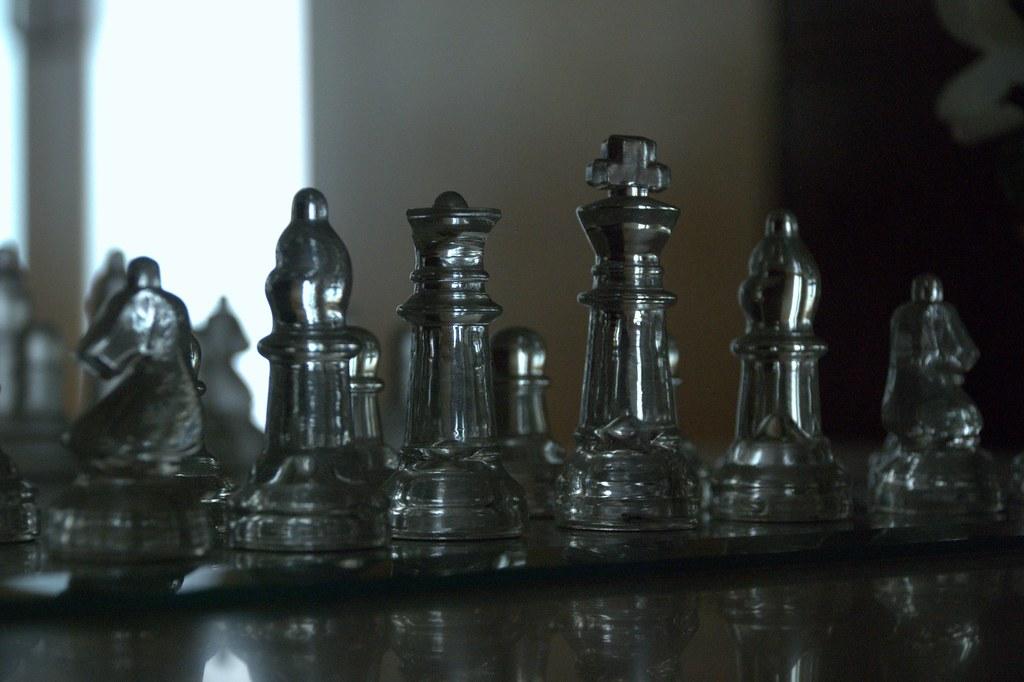 chess gambit chessboard