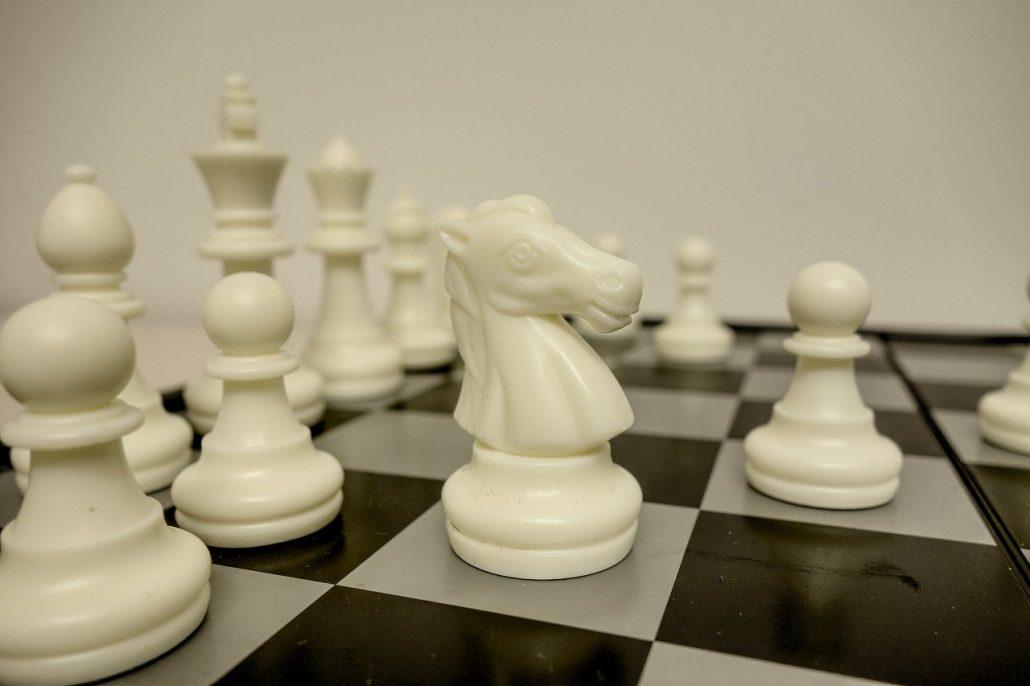 chess open files knight