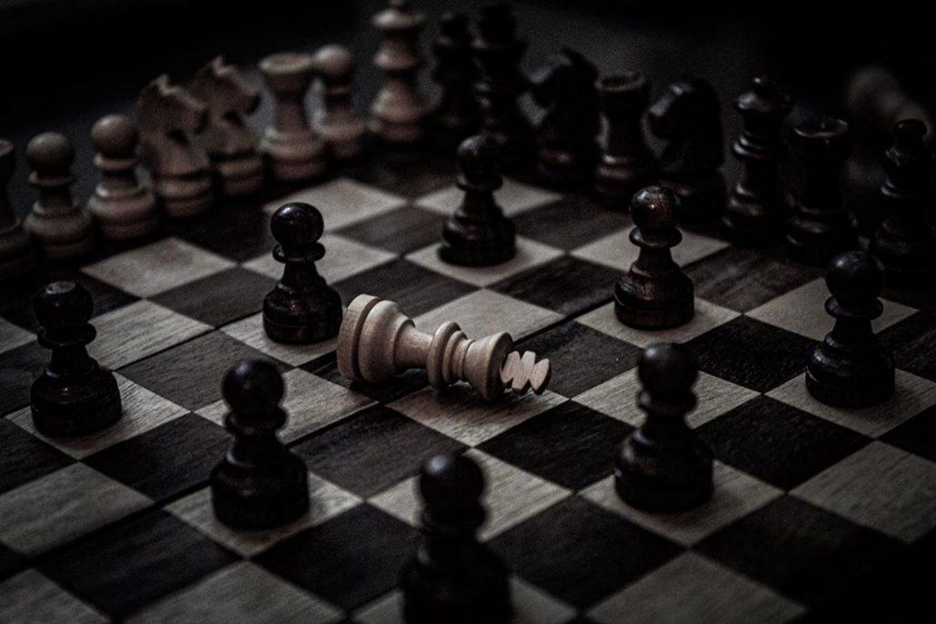 chess passed pawns checkmate