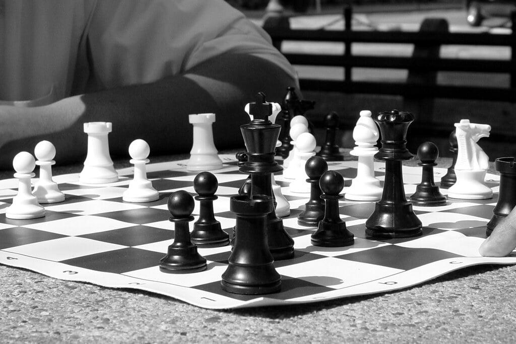 chess psychology chessboard