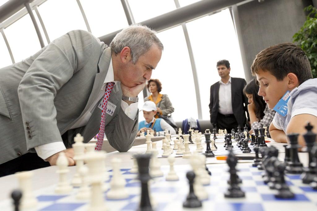 Garry Kasparov Simul