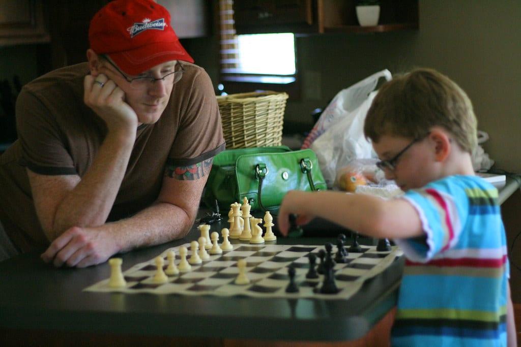 improve at chess child