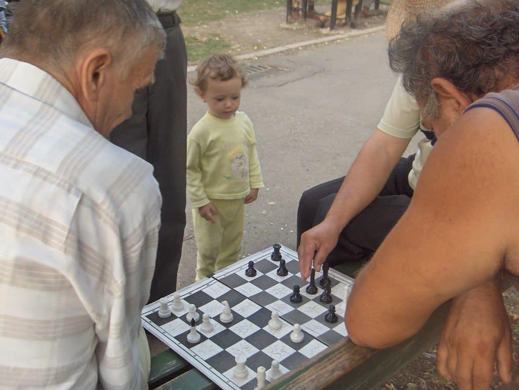 chess math is fun kid