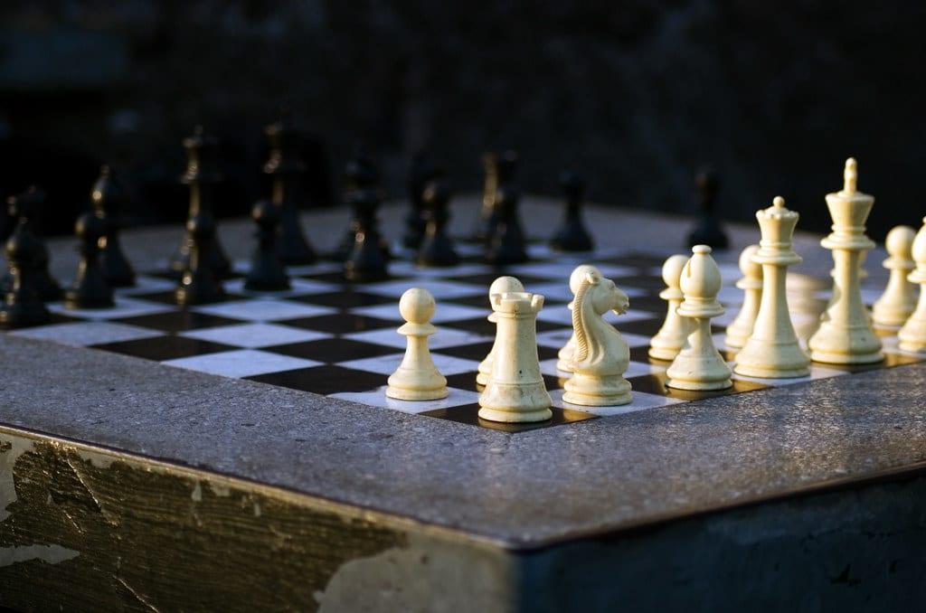 no chess theory board