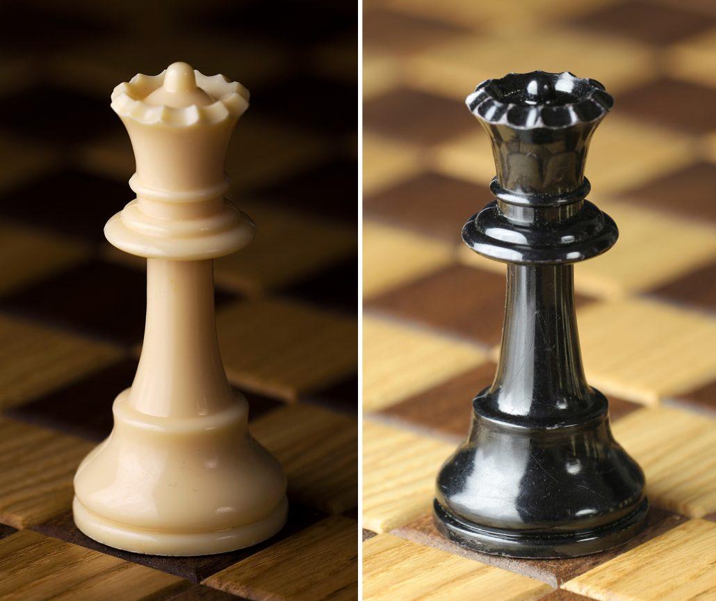 chess pieces names queen